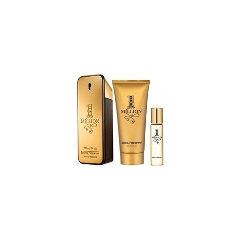 paco rabanne 1 million pour homme eau de toilette 100ml gift set perfumes fragrances
