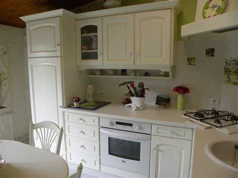 cuisines as cuisine contemporaine laquée blanc rechi vert gilles