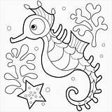 Coloring Quiver Raccoon Seahorse Pleasant Millie Elegant Ba Birijus Published sketch template