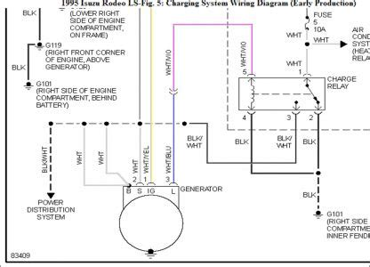 Isuzu Rodeo Question Alternator Plug Electrical