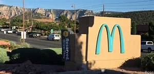 Sedona, AZ - Only McDonald's with Green Arches