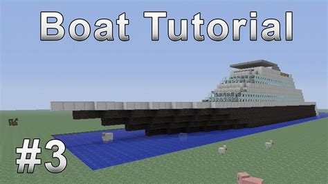 Minecraft Boat How To Get Out by Boat Tutorial Minecraft Xbox 360 3