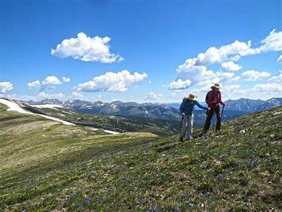 Hiking Adult Walking Mountains Colorado Vail Summer