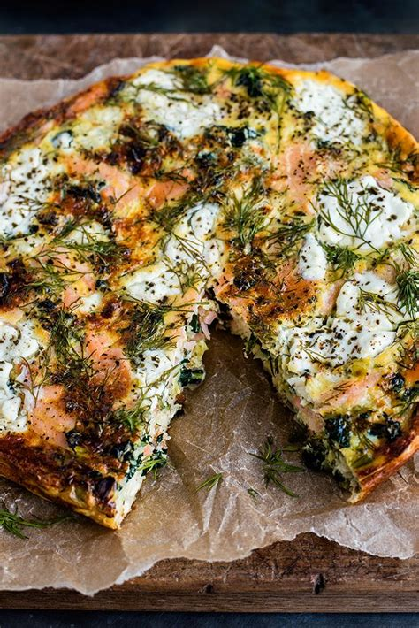 is cottage cheese paleo cottage cheese kale and smoked salmon frittata recipe