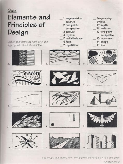 the 8 principles of design daily objectives ms dilley s website