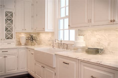 Classic White Kitchen  Traditional  Kitchen  Cleveland
