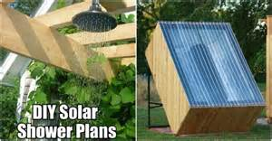 Solar Shower Diy by Diy Solar Shower Plans How To Instructions