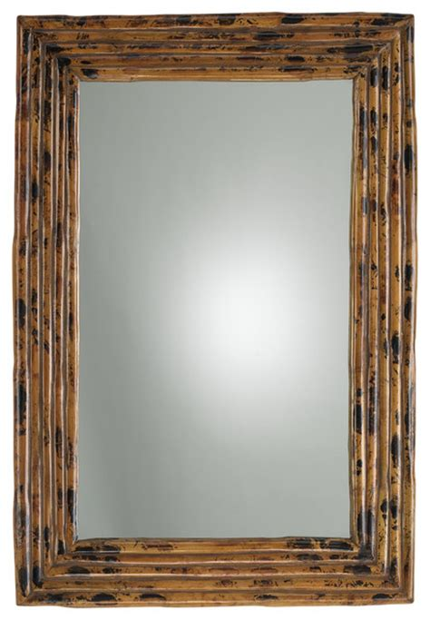 tortoise rectangle mirror tropical wall mirrors