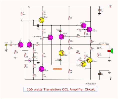 Amplifier Circuit With Pcb