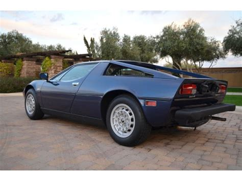 Maserati Merak Ss For Sale by 1978 Maserati Merak Ss For Sale