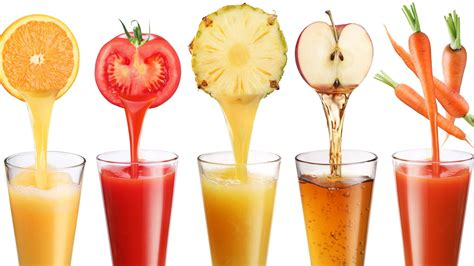 fruit drinks good food running and slimming