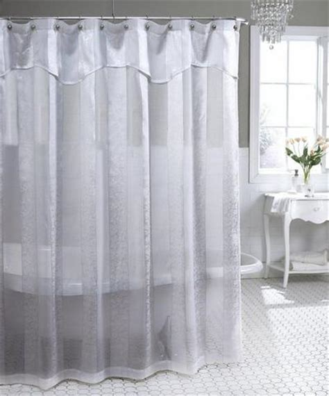 shabby crushed voile ruffled shower curtain 3 colors