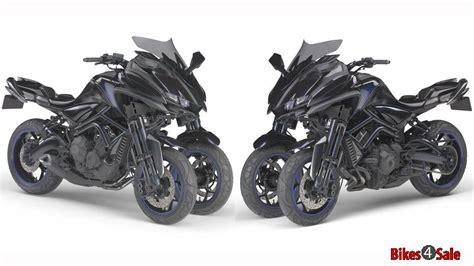 Yamaha's 850cc Sports Three-wheeler Mwt-9 Concept