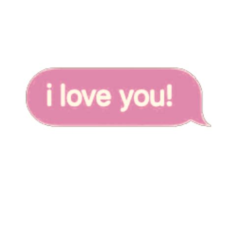pink text love aesthetic tumblr sticker