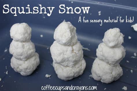 squishy snow sensory activity for preschool coffee 753 | Squishy Snow Sensory Material for Preschool