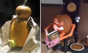 Rude Pumpkin Carvings by Inappropriate Pumpkins D I Y Halloween