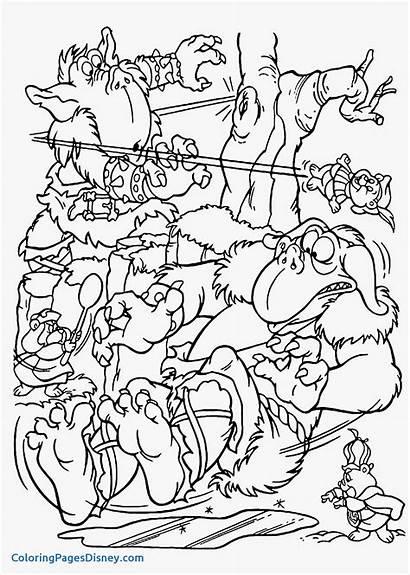 Coloring Goblin Pages Bears Gummi Goblins Printable