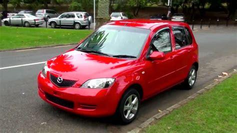mazda demio    auto scarlet red youtube