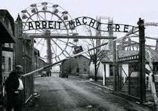 scritta ingresso auschwitz auschwitz birkenau desciclop 233 dia