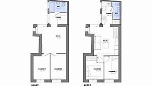 Plan Petite Salle D Eau : petite surface maxi optimisation ~ Dallasstarsshop.com Idées de Décoration