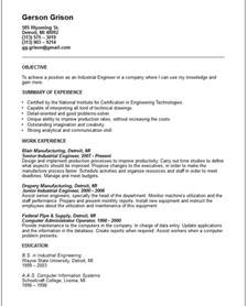 industrial engineer resume exles engineering resume exles