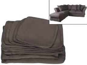 Housse Pour Canapé D Angle by Housse Pour Canap 233 D Angle Modulable Pouf Tissu Victoire