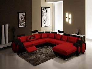 Red and black living room furniture for Red and black living room furniture