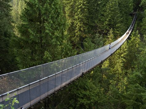 Capilano Suspension Bridge British Columbia Canada