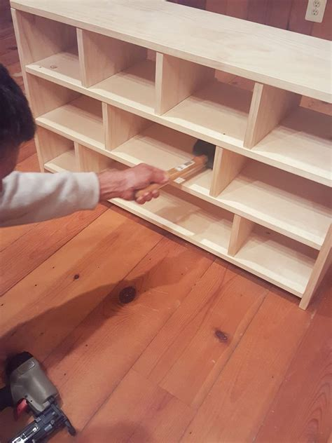 plans  build  shoe cubby stuff  build