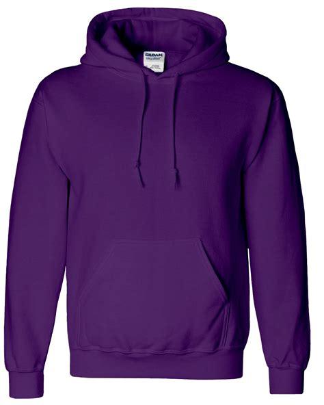 Hoodie Purple new gildan plain cotton heavy blend hoodie blank pullover