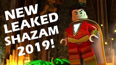 New *leaked* Lego Shazam Minifigure Coming 2019!