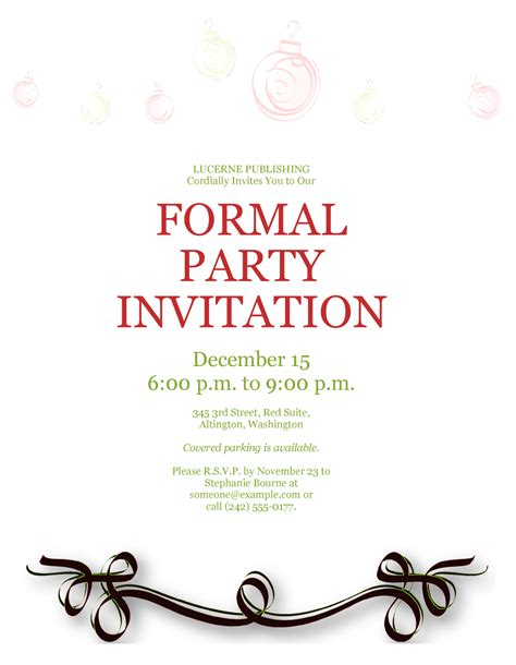 formal invitation template for an event official invitation template songwol 4f9185403f96