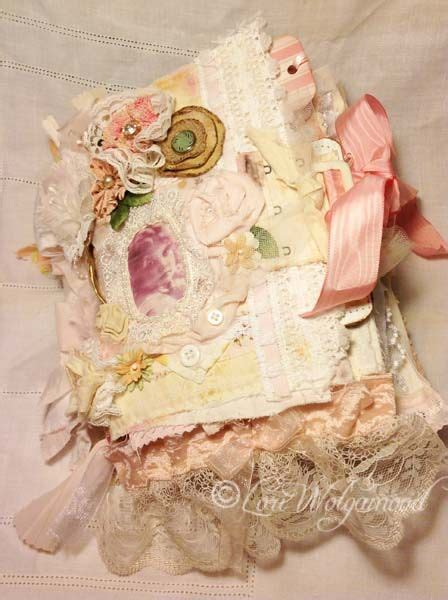 shabby chic fabric journals 182 best vintage photo images on pinterest altered art altered book art and altered books