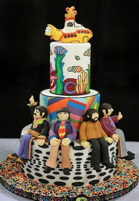 164 Best Images About Beatles Cakes On Pinterest The