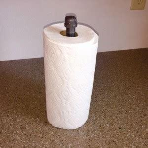 industrial black pipe paper towel holder diy kit