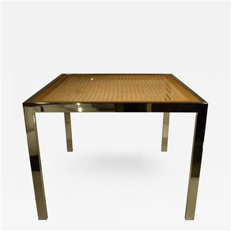 mid century glass dining table milo baughman mid century modern chrome glass wicker