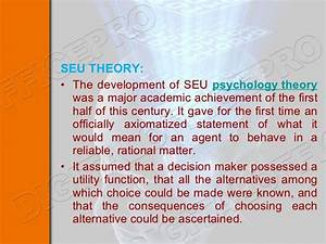 Overview Of Decision Making Process In Psychology And Its