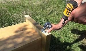 Jardiniere Sur Roulette : fabriquer une jardini re wicking bed mon potager en carr s ~ Farleysfitness.com Idées de Décoration
