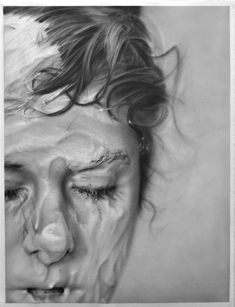 """""""surfaced"""" Graphite On Paper Drawings By Melissa Cooke"""