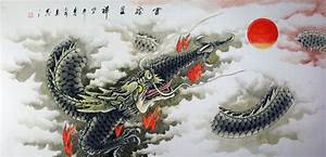 Huge Dragon Painting - Ancient Chinese Philosophy Art ...
