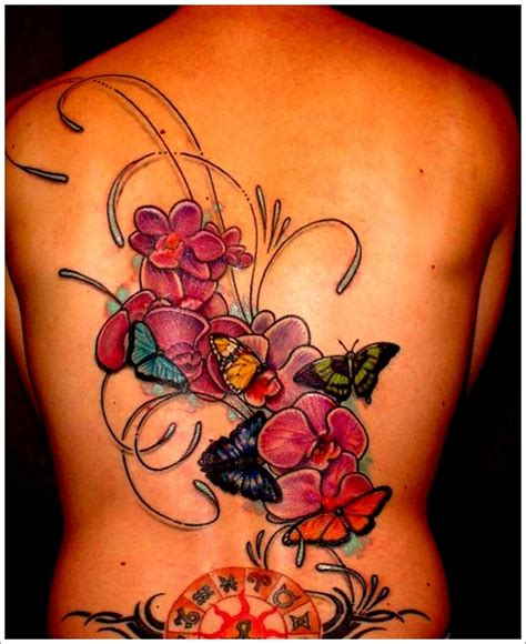 30 Sexy And Beautiful Orchid Tattoo Designs