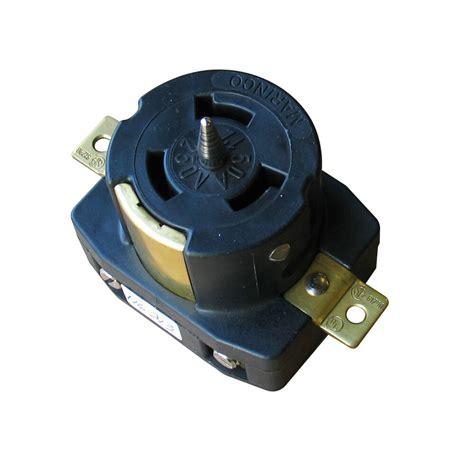 Marinco Pole Locking Receptacle Wire Amp