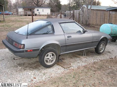1985 Mazda Rx7 Parts armslist for trade 1985 mazda rx7 parts or project