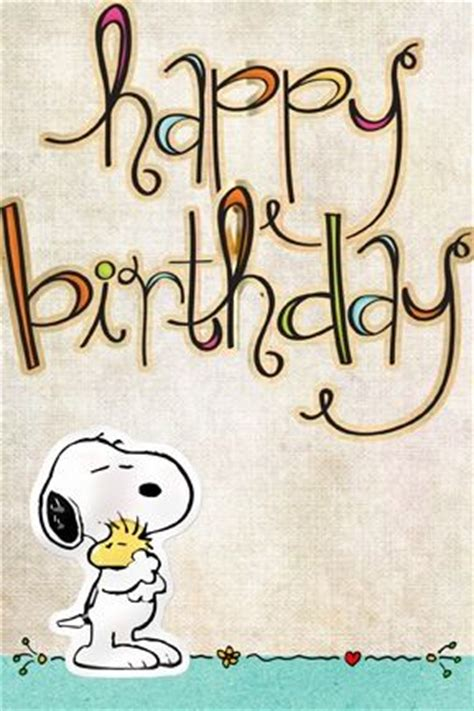 Snoopy Happy Birthday Wishes