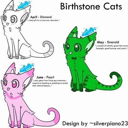 Birthstone June April Cats Birthstones Deviantart Creatures