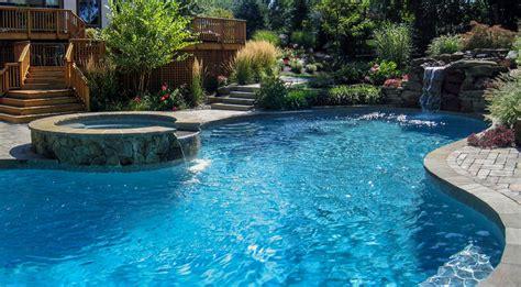 concrete pool designs ideas pool design nj clc landscape design