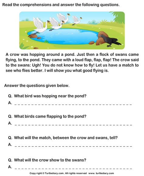 grade 1 comprehension worksheets search