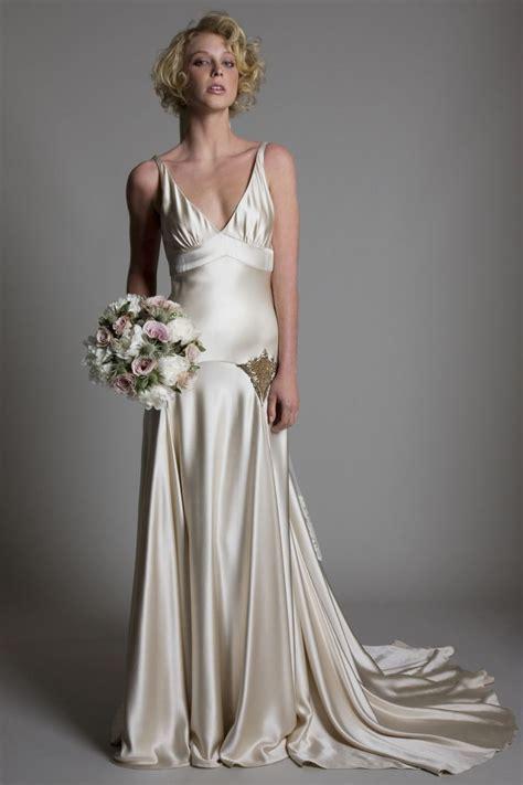 Vintage Lace Bridal Dresses Backless Wedding Dresses