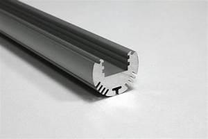 Ledstrip 2 Meter : led strip profiel 2 meter 24mm x 24mm rond ledtuning ~ Frokenaadalensverden.com Haus und Dekorationen