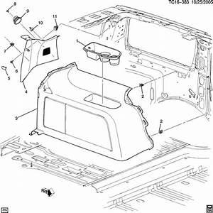 2013 Chevrolet Tahoe Base 4dr Panel  Body Interior Trim